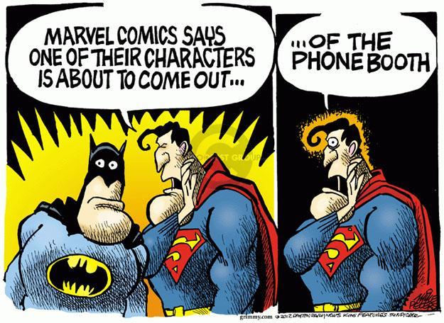 Cartoonist Mike Peters  Mike Peters' Editorial Cartoons 2012-05-24 homosexual