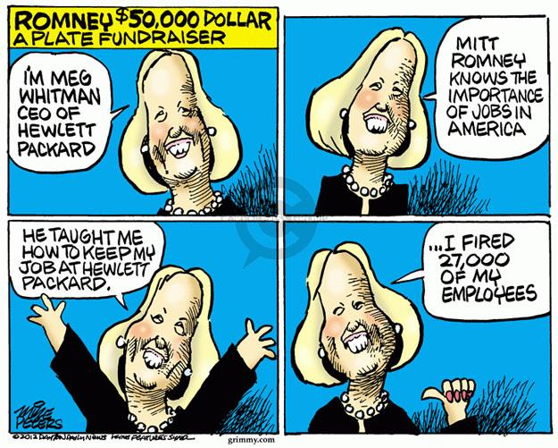 Cartoonist Mike Peters  Mike Peters' Editorial Cartoons 2012-05-31 election