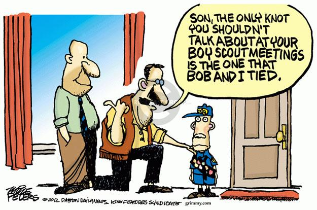 Cartoonist Mike Peters  Mike Peters' Editorial Cartoons 2012-07-18 child