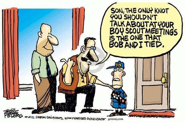 Cartoonist Mike Peters  Mike Peters' Editorial Cartoons 2012-07-18 homosexual