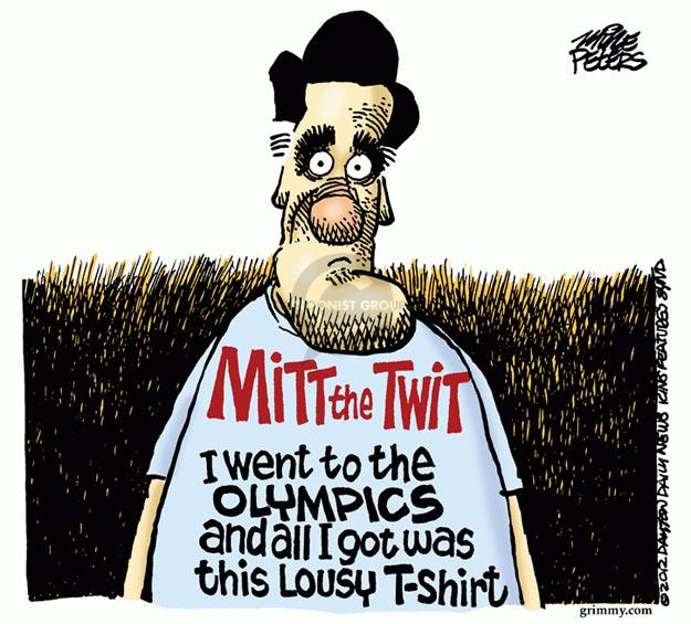 Mike Peters  Mike Peters' Editorial Cartoons 2012-07-27 2012 Olympics