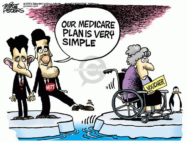 Cartoonist Mike Peters  Mike Peters' Editorial Cartoons 2012-08-16 election