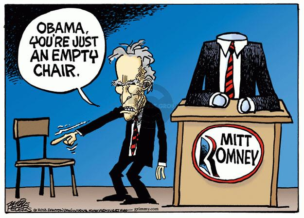 Cartoonist Mike Peters  Mike Peters' Editorial Cartoons 2012-09-03 election