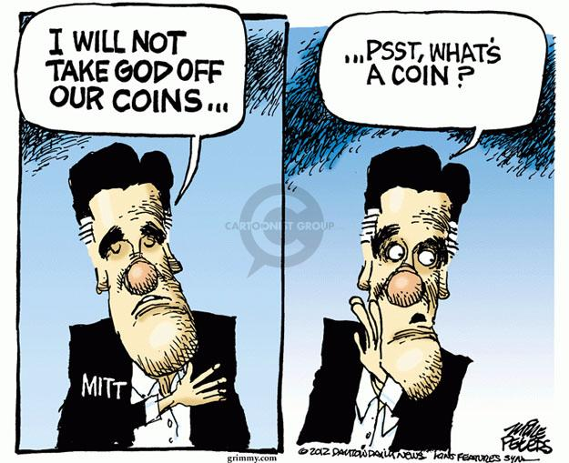 Cartoonist Mike Peters  Mike Peters' Editorial Cartoons 2012-09-12 Mitt Romney
