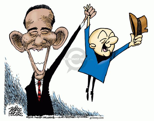 Mike Peters  Mike Peters' Editorial Cartoons 2012-10-12 Joe Biden