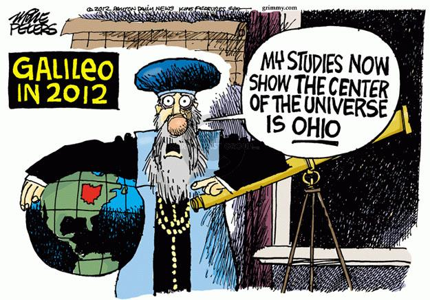 Cartoonist Mike Peters  Mike Peters' Editorial Cartoons 2012-10-24 election