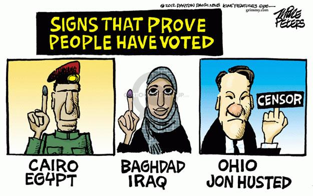 Mike Peters  Mike Peters' Editorial Cartoons 2012-11-16 2012 election