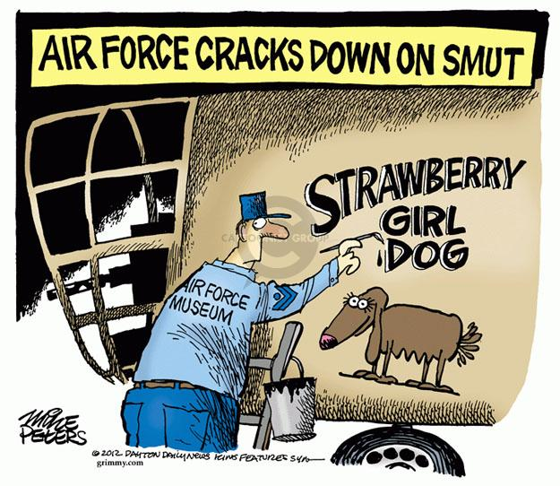Cartoonist Mike Peters  Mike Peters' Editorial Cartoons 2012-12-07 plane