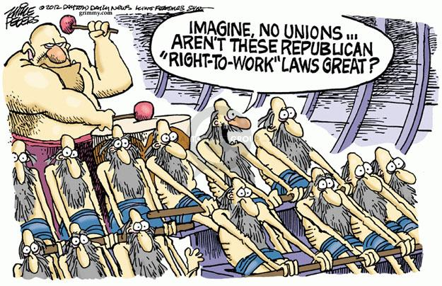 Cartoonist Mike Peters  Mike Peters' Editorial Cartoons 2012-12-12 union