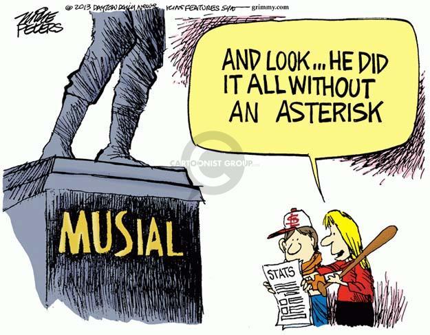 Mike Peters  Mike Peters' Editorial Cartoons 2013-01-21 athlete