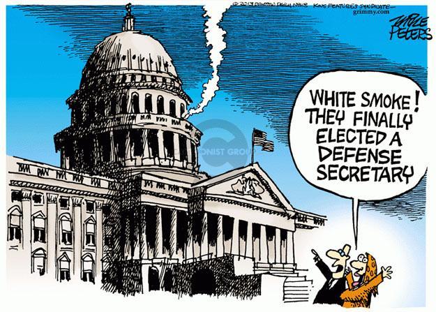 Cartoonist Mike Peters  Mike Peters' Editorial Cartoons 2013-02-27 capitol