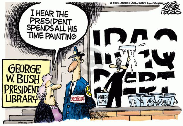 Mike Peters  Mike Peters' Editorial Cartoons 2013-04-05 time