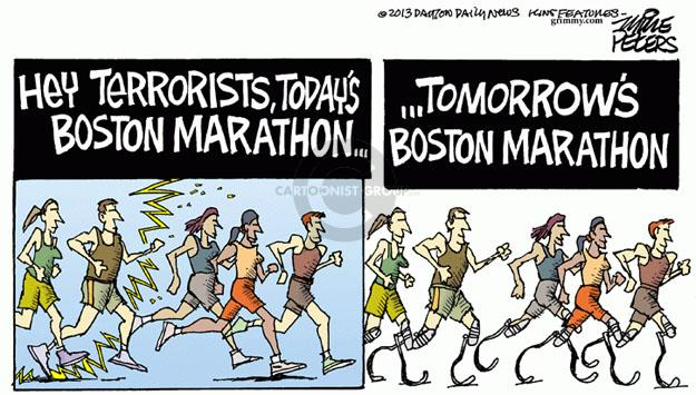 Mike Peters  Mike Peters' Editorial Cartoons 2013-04-17 athlete