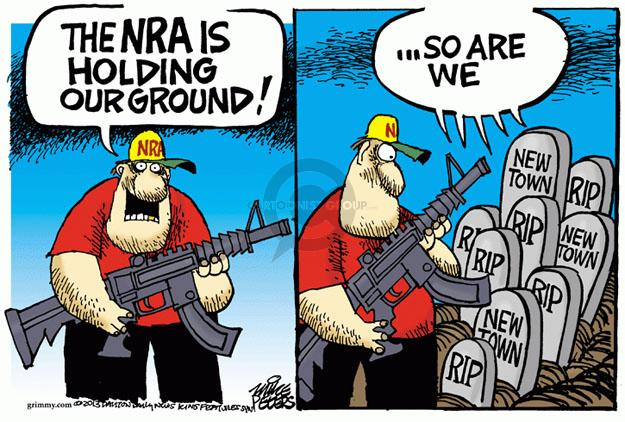 Mike Peters  Mike Peters' Editorial Cartoons 2013-05-03 assault weapon