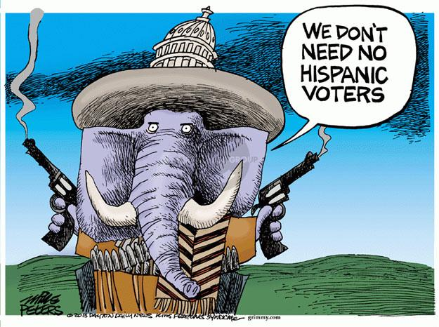 Cartoonist Mike Peters  Mike Peters' Editorial Cartoons 2013-07-11 immigrant
