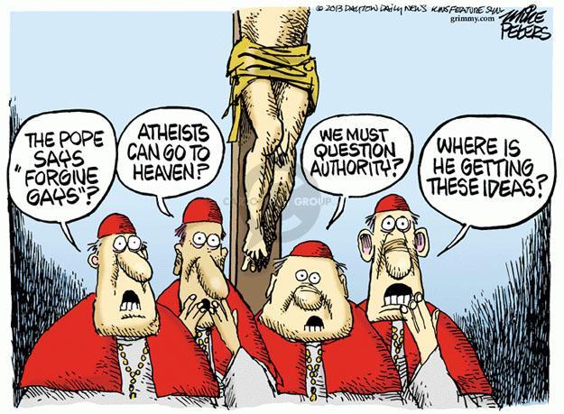 Mike Peters  Mike Peters' Editorial Cartoons 2013-08-01 pope