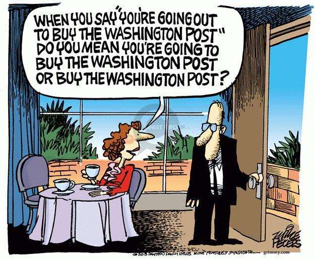 Mike Peters  Mike Peters' Editorial Cartoons 2013-08-07 industry