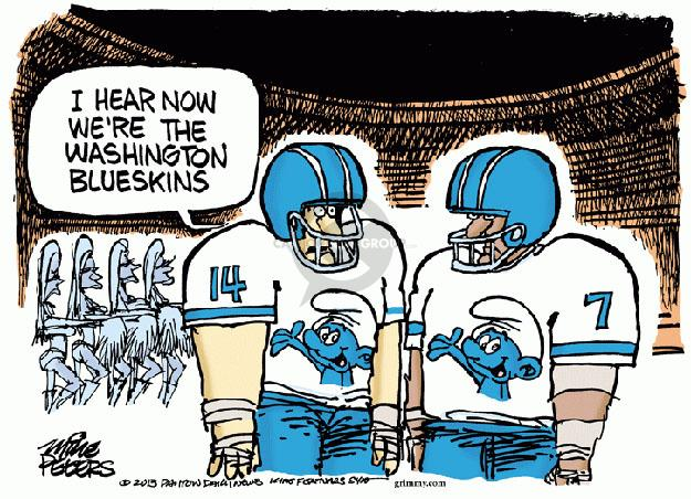 Mike Peters  Mike Peters' Editorial Cartoons 2013-09-12 football player