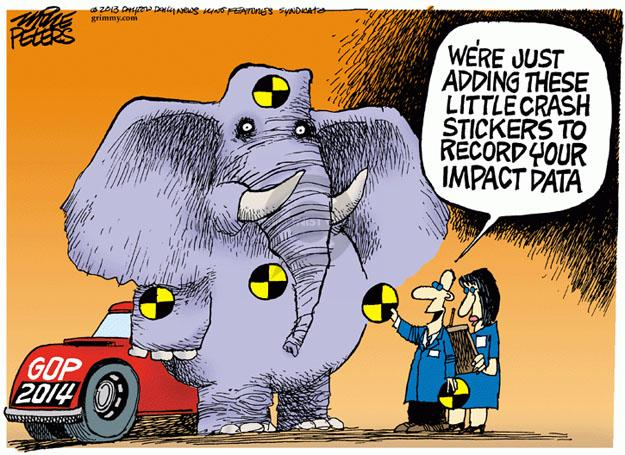 Mike Peters  Mike Peters' Editorial Cartoons 2013-10-16 2014