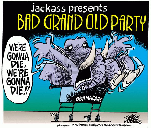 Mike Peters  Mike Peters' Editorial Cartoons 2013-10-24 grand