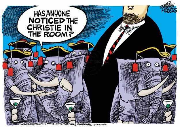 Cartoonist Mike Peters  Mike Peters' Editorial Cartoons 2013-11-07 gubernatorial