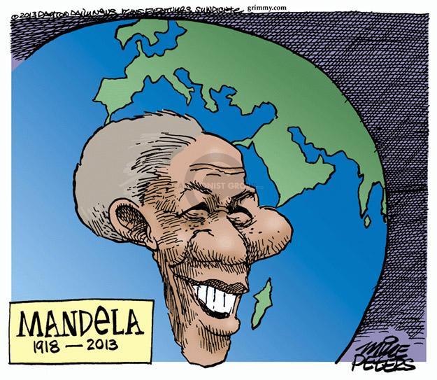 Cartoonist Mike Peters  Mike Peters' Editorial Cartoons 2013-12-06 south
