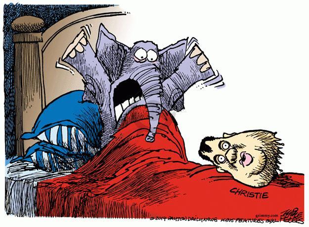 Mike Peters  Mike Peters' Editorial Cartoons 2014-01-09 bed
