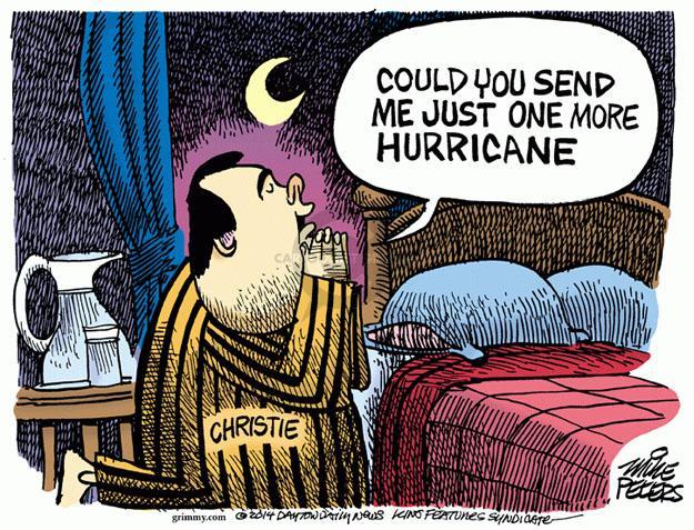 Mike Peters  Mike Peters' Editorial Cartoons 2014-01-15 George Washington