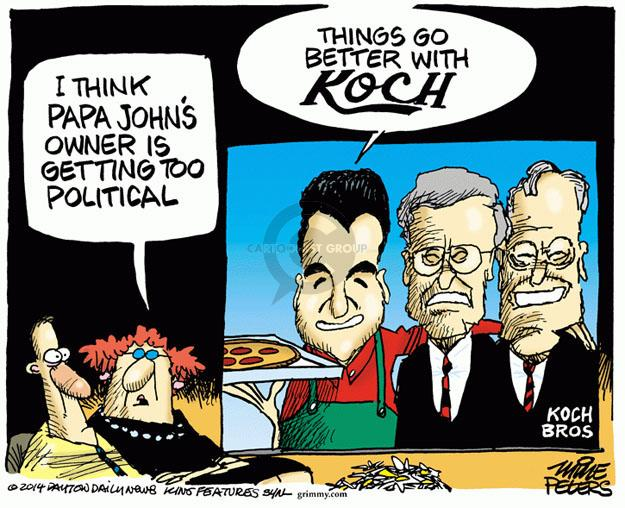 Mike Peters  Mike Peters' Editorial Cartoons 2014-02-07 industry