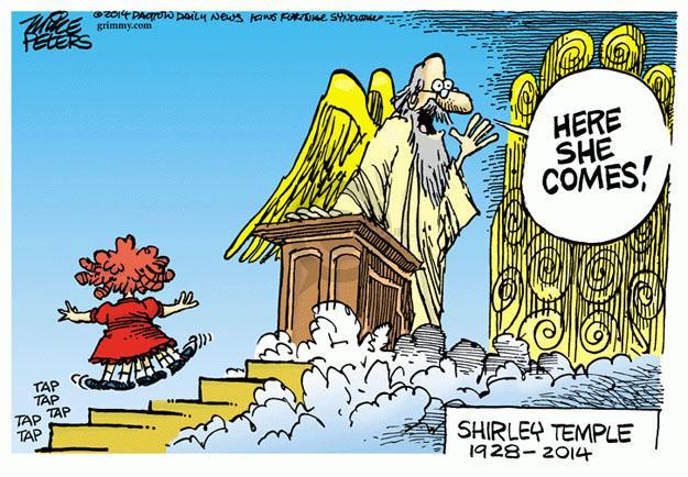 Cartoonist Mike Peters  Mike Peters' Editorial Cartoons 2014-02-11 movie