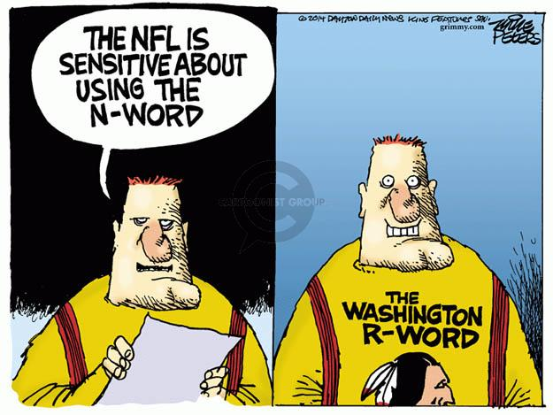 Mike Peters  Mike Peters' Editorial Cartoons 2014-02-28 discriminatory