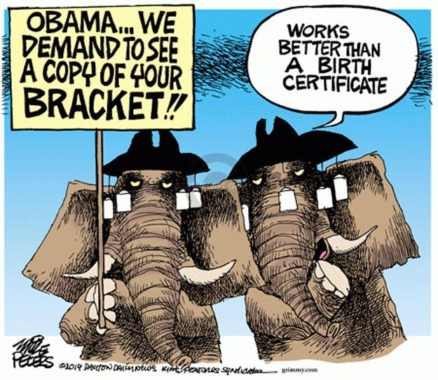 Cartoonist Mike Peters  Mike Peters' Editorial Cartoons 2014-03-21 birth