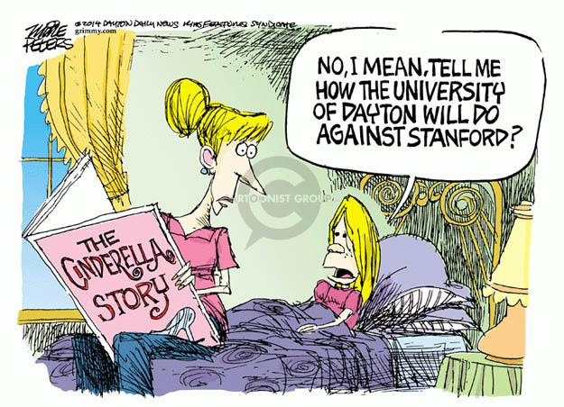 Mike Peters  Mike Peters' Editorial Cartoons 2014-03-24 NCAA