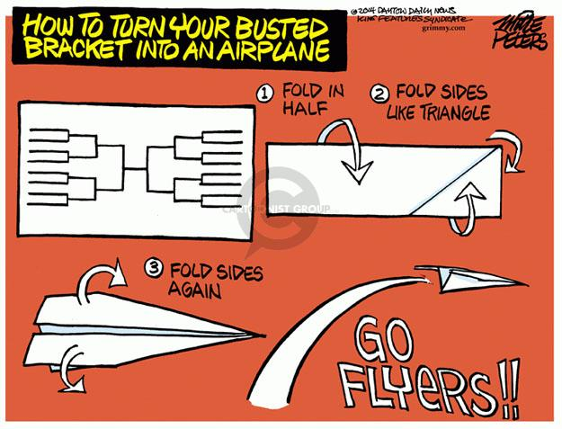 Mike Peters  Mike Peters' Editorial Cartoons 2014-03-26 NCAA