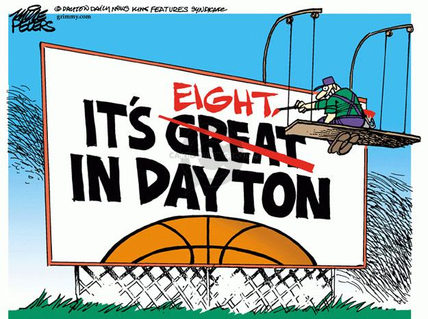Mike Peters  Mike Peters' Editorial Cartoons 2014-03-28 NCAA
