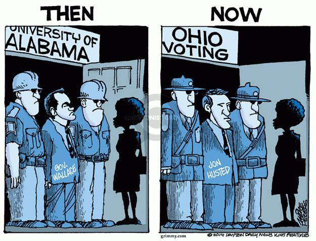 Mike Peters  Mike Peters' Editorial Cartoons 2014-05-02 voting rights