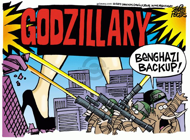 Cartoonist Mike Peters  Mike Peters' Editorial Cartoons 2014-05-16 Hillary Clinton