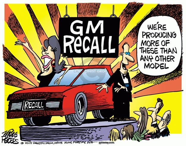 Mike Peters  Mike Peters' Editorial Cartoons 2014-05-27 car model