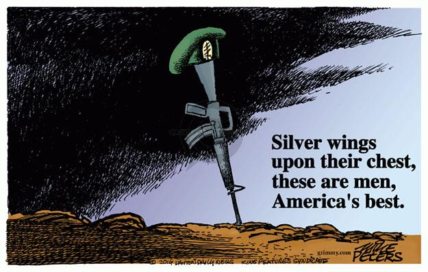 Mike Peters  Mike Peters' Editorial Cartoons 2014-06-06 American History