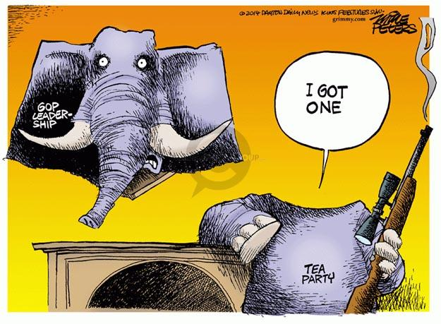 Mike Peters  Mike Peters' Editorial Cartoons 2014-06-11 leader