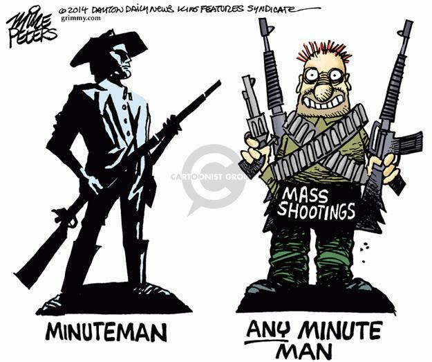 Minuteman. Any Minute Man. Mass shootings.