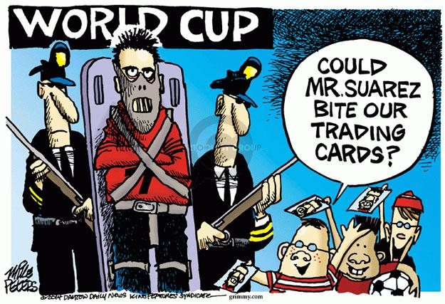 Mike Peters  Mike Peters' Editorial Cartoons 2014-06-26 football player