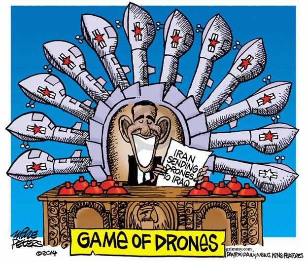 Mike Peters  Mike Peters' Editorial Cartoons 2014-06-27 Iran