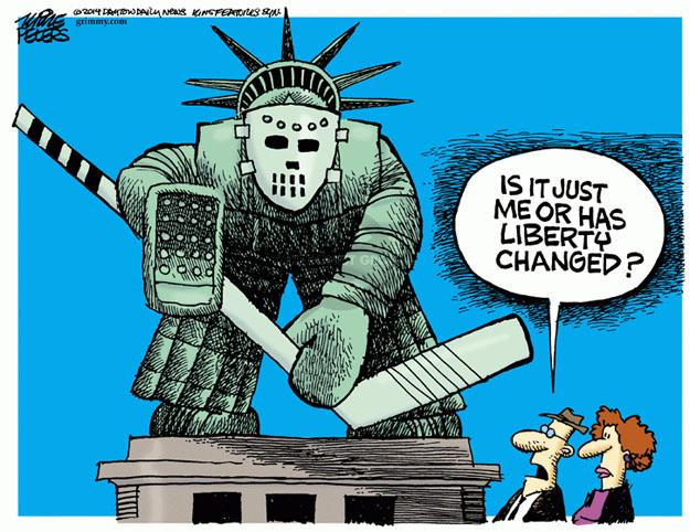 Cartoonist Mike Peters  Mike Peters' Editorial Cartoons 2014-07-09 immigrant