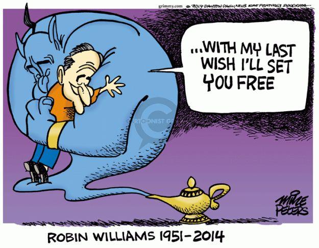 Cartoonist Mike Peters  Mike Peters' Editorial Cartoons 2014-08-12 film