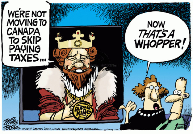 Cartoonist Mike Peters  Mike Peters' Editorial Cartoons 2014-08-28 company