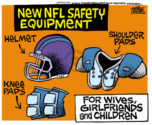 Mike Peters  Mike Peters' Editorial Cartoons 2014-09-17 football player