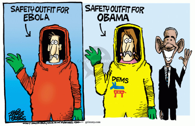 Mike Peters  Mike Peters' Editorial Cartoons 2014-10-10 2014 election