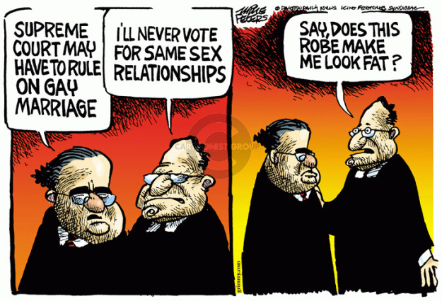 Mike Peters  Mike Peters' Editorial Cartoons 2014-11-07 Supreme Court