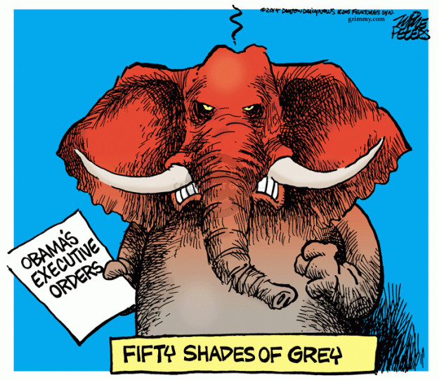 Mike Peters  Mike Peters' Editorial Cartoons 2014-11-14 50 Shades of Grey